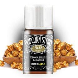 Aroma No. 68 Popcorn Story (popcorn, burro e caramello) 10 ml - Dreamods