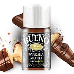 Aroma No. 72 Bueno (wafer alla nocciola) 10 ml - Dreamods