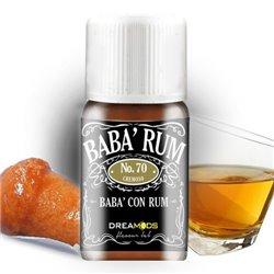 Aroma No. 70 Baba' Rum 10 ml - Dreamods